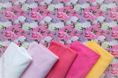 Puuvillane  trikotaaž pojengid roosal